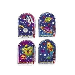 Mini Space Weltraum Flipper Mitgebsel Pinball 12 Stück Palandi®