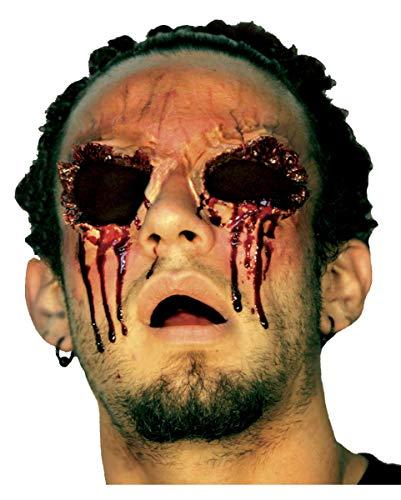 Eyes Latexwunde als Halloween Make-up Effekt ()