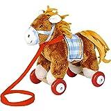 Spiegelburg 14417 Pony Sam auf Holzrollen Mein kleiner Ponyhof