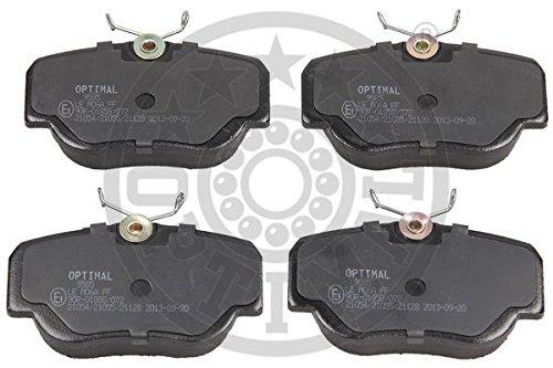 Preisvergleich Produktbild Optimal 9585 Bremsbelagsatz, Scheibenbremse