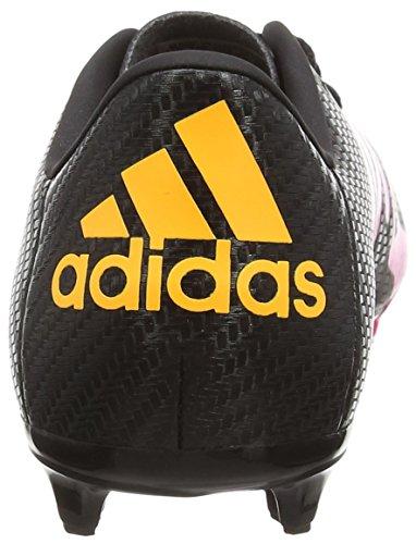 adidas X 15.3 Fg/Ag, Scarpe da Calcio Bambino Multicolore (Core Black/Shock Pink/Solar Gold)