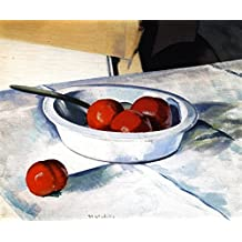 ODSAN Still Life (Tomatoes) - By Francis Campbell Bolleau (F.C.B.) Cadell - impressions sur toile 16x13 pouces - sans cadre