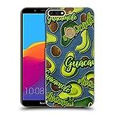 Head Case Designs Lilien Und Creme Alles Ueber Avocados Ruckseite Hülle für Huawei Honor 7C / Enjoy 8