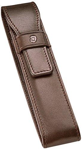 Funda de piel Staedtler Premium para 1 pluma, marrón