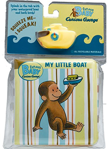 Curious Baby My Little Boat: Curious George Bath Book with Toy [With Boat] (Curious Baby Curious George) por H. A. Rey