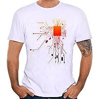 Camiseta Hombre,Longra ☆ Camiseta de Cráneo Hombre Militares Camisetas Deporte Ropa Deportiva Camisa de
