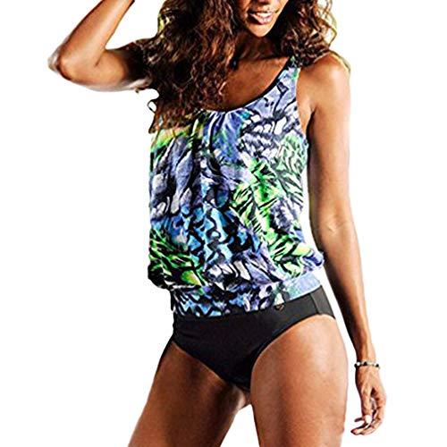 3e8b87972c9 AidShunn Mujeres Tank Top Deportivo Tankini Top Bikini