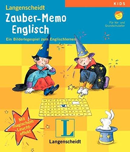 Langenscheidt Zauber-Memo Englisch. Ein Bilderlegespiel zum Englischlernen.