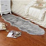 Sroomcla Nachgeahmte Wolle Oval Wohnzimmer Teppich Kinderzimmer Teppich Einfache Imitation Wolle...