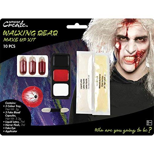 Amscan International 9901428Walking Dead Zombie Make up ()