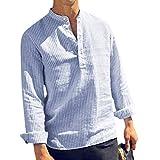 Kobay Impression Camouflage Encolure en V Encolure Ronde Style National de Couleur Unie Couture Sports sans Manches Chemise à Manches Courtes Gilet Hommes Printemps Homme
