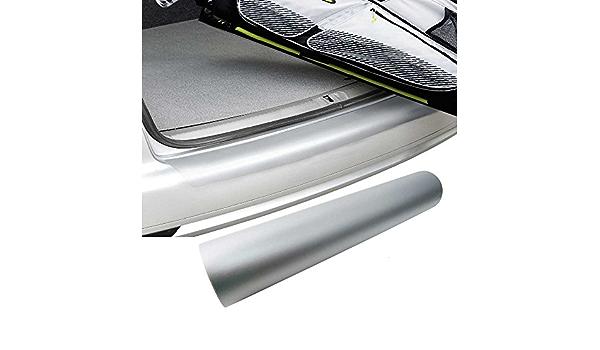 Premium Ladekantenschutz Folie Lack Schutz Kratzer Silber Für Viele Fahrzeuge Auto