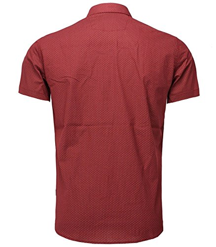 Carisma - Chemisette homme coupe slim-fit Chemisette 9086 rouge - Rouge Rouge