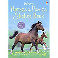 Horses and Ponies Sticker Book (Usborne Sticker Books) (Spotters Sticker Guides)