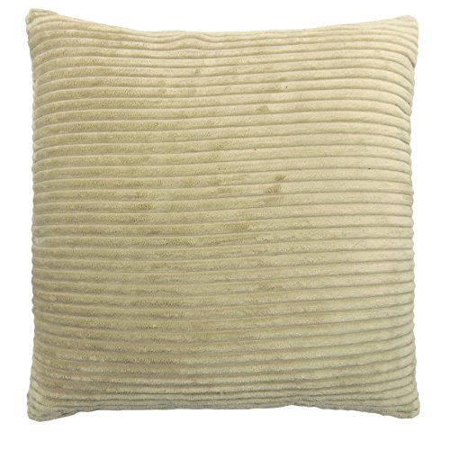 2 x color crema MODERN in Ciniglia Spessa Pesante cavo 43,18 cm morbida fodera per cuscino