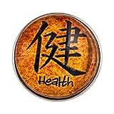 Morella Unisex Click-Button Druckknopf Glückssymbol Gesundheit