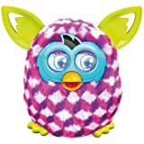 Furby Pink Cubes Boom Plush Toy by Furby (English Manual) [habla inglés, no compatible con app española]