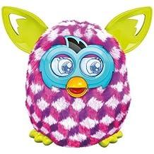 Furby Pink Cubes Boom Plush Toy by Furby (English Manual) [habla inglés, no compatible con app española]