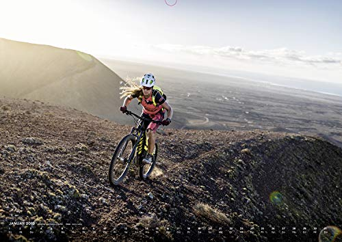 E-Mountain Bike Kalender by Markus Greber. EMTB E-MTB, EBike E-Bike, E-Mountainbike EMountainbike, MTB, Bike, Mountainbike Wandkalender im DIN A2 Format