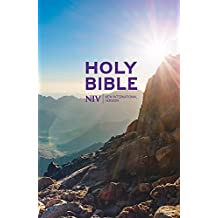 NIV Thinline Value Hardback Bible (New International Version)