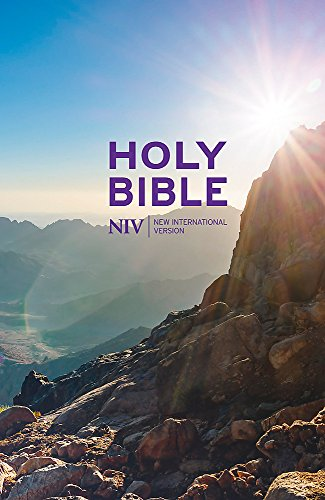 New International Version Thinline Value Hardback Bible por New International Version