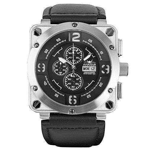 infantryr-mens-analogue-quartz-wrist-watch-chronograph-date-day-display-genuine-leather-strap-waterp