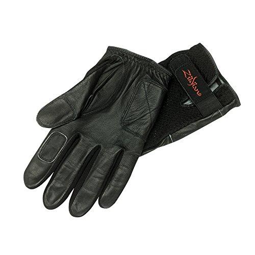 ZILDJIAN P0821 Drummer\'s Gloves, Paar (Größe: S) schwarz