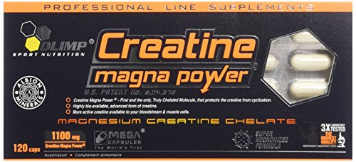 Olimp Sport Nutrition Creatine Magna Power, Creatina - 120 Cápsulas