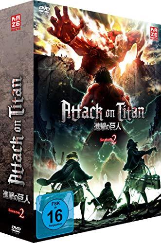 Attack on Titan - Staffel 2 - Vol. 1 - [DVD] mit Sammelschuber