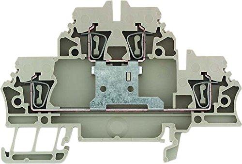Weidmuller zdk2,5/2,5V–Borne Zwei ZDK 2.5/1.5V beige