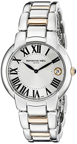 Raymond Weil - Reloj de pulsera mujer, acero inoxidable, color plateado