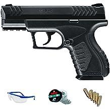PACK pistola Umarex XBG de balines - Arma de CO2 calibre 4.5mm perdigones de acero <3,5J