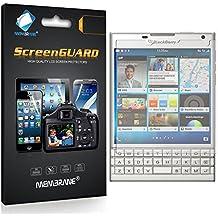 3 x Membrane Protector de Pantalla para BlackBerry Passport - Transparente, Embalaje y accesorios