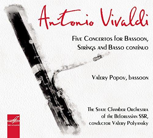 Fünf Konzerte für Fagott,Streicher U.B.C.