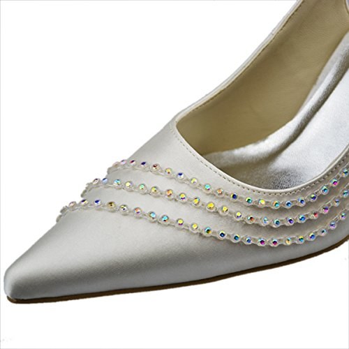 Minitoo ,  Damen Sling Backs Elfenbein