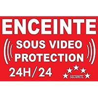 Panneau enceinte sous vidéo protection 24/24