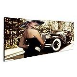 islandburner Bild Bilder auf Leinwand 20er Jahre Model Auto Poster, Leinwandbild, Wandbilder