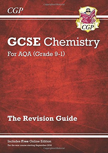 New Grade 9-1 GCSE Chemistry: AQA Revision Guide with Online Edition Test