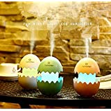 Brezzycloud USB Car Fresh Air Humidifier Funny Easter Egg Design Aroma Cool Mist Ultrasonic Portable Diffuser For Home Office Travel Car Bedroom