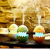 Brezzycloud USB Car Fresh Air Humidifier Funny Easter Egg Design Aroma Cool Mist