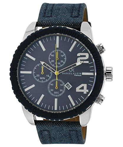 Daniel Klein Analog Black Dial Men's Watch - DK10233-8