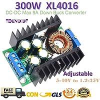 300W XL4016 DC-DC Max 9A Step Down 5-40V to 1.2-35V Adjustable Power Supply | 300W XL4016 DC-DC Max 9A Buck Convertidor Regulador de Voltaje 5-40V a 1.2-35V Ajustable Alta Potencia Eficiencia Paso abajo Fuente de Alimentación
