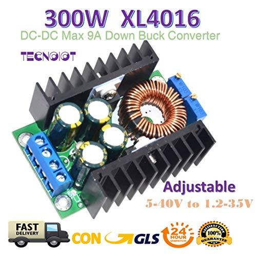 x 9A Step Down 5-40V to 1.2-35V Adjustable Power Supply ()