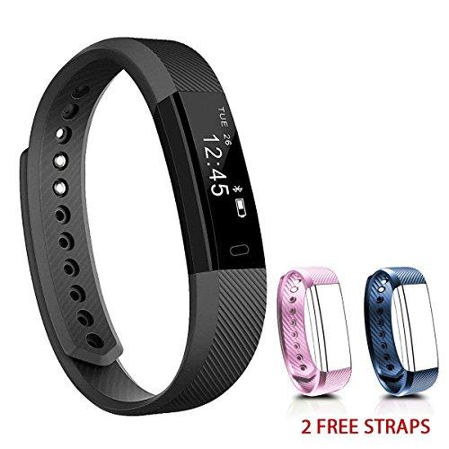 NAKOSITE SB2433 Best Fitness Tracker Pedometer Activity Tracker Smart Bracelet, Step Counter,...
