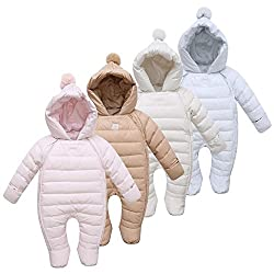 Newborn Girl 10 X Thermal Duck Down Winter Snow suit Baby Cute Hooded Jumpsuit Newborn Baby Boys & Girls Clothes 10 X Sets Limited Offer **Imported Generic**