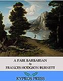 Image de A Fair Barbarian (English Edition)