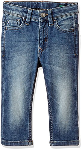 United Colors of Benetton Baby Boys' Jeans (17P4AC657CG0G901_901_Blue_1Y)