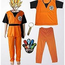 Dragon Ball Goku Gohan ninos del traje del traje Ninos 130cm-140cm