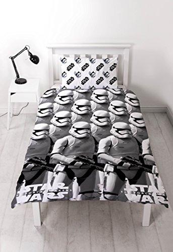 Star Wars character world episodio 100 por ciento de microfibra es probable que 7 funda de almohada y edredón, Multi-color