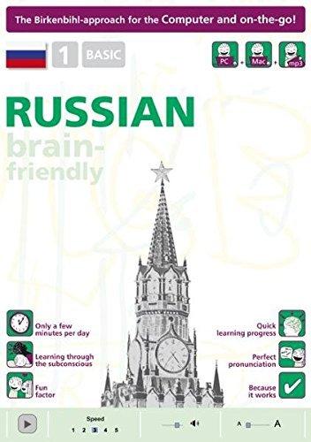 Brain-friendly Russian: Basic No. 1: Computer Course,Russian in Only 5 Minutes (Brain-Friendly, Russian in Only 5 Minutes) by Vera F. Birkenbihl (2010-11-15)